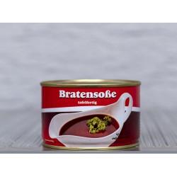 Feine Bratensauce aus eigener Herstellung Tafelfertig in der Dose.